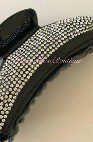 Sparkly Crystal Hair Clip Large