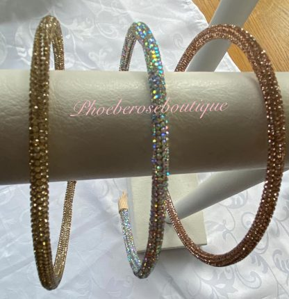 Diamante Super Sparkly Headband - AB Crystal