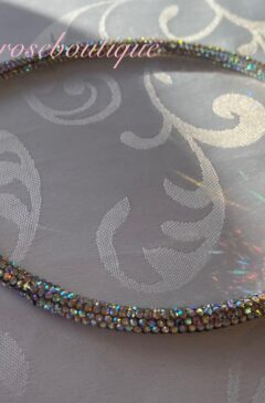 Diamante Super Sparkly Headband - AB Crystal