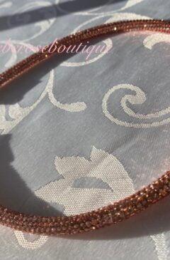 Diamante Super Sparkly Headband - Rose Gold