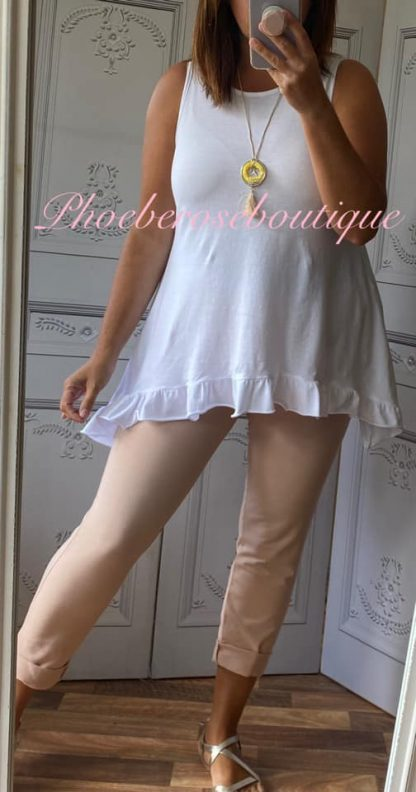 Basic Soft Jersey Pocket Joggers - Soft Pink