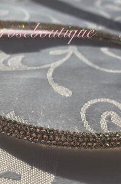 Diamante Super Sparkly Headband - Silver Crystal